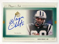 1999 Sp Authentic Player's Ink Wayne Chrebet auto autograph *28767