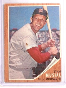 1962 Topps Stan Musial #50 VG-EX *66859