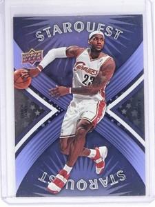2008-09 Upper Deck LeBron James Starquest Cyan #SQ-17 *49625