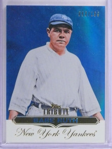 2011 Topps Tribute Blue Babe Ruth #D053/199 #1 *63020