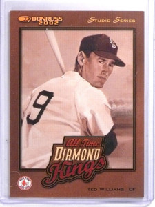 2002 Donruss All-Time Diamond Kings Studio Ted Williams #D181/250 #ATDK1 *60105