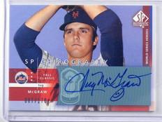 2003 Sp Authentic Chirography Tug Mcgraw auto autograph #D87/170 #tm *41847