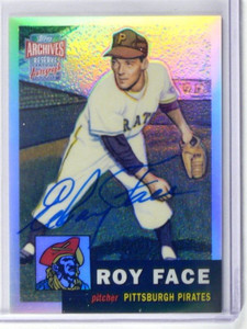 2001 Topps Archives Reserve Elroy Face auto autograph #ARA33 *41826