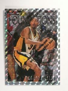 96-97 Topps Finest Refractor Reggie Miller #270 *46766