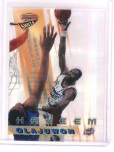 1997-98 Bowman's Best Hakeem Olajuwom Atomic Refractor #BS4 *45965