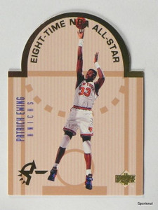93-94 Upper Deck SE All-Star Diecut Patrick Ewing #E11 *43220