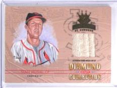 2004 Donruss Diamond Kings Diamond Cut Stan Musial Jersey #D01/10 #DC47 *60149