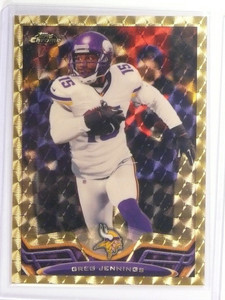 2013 Topps Chrome Superfractor Greg Jennings #219 #D 1/1 *49353
