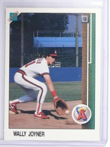 1988 Upper Deck promos Wally Joyner #A700 Hologram at Top *64811