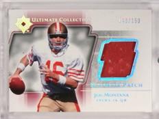 2004 Ultimate Collection Joe Montana patch #D48/150 #UP-JM *50025