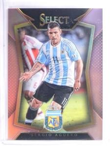 2015-16 Panini Select Soccer Pink Prizm Sergio Aguero #D13/20 #62 *57501