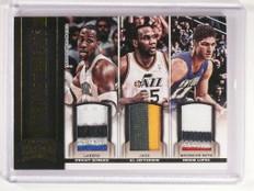 12-13 Threads Dwight Howard Jefferson Brook Lopez triple patch #D24/25 *50573