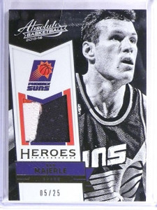 2015-16 Absolute Basketball Dan Majerle Heroes Jersey Patch #D05/25 #2 *57055