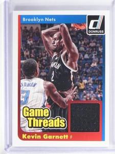 2014-15 Panini Donruss Kevin Garnett Game Threads Jersey #41 *49710