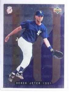 1995 Upper Deck Minors Top 10 Prospects Derek Jeter #1 *63005