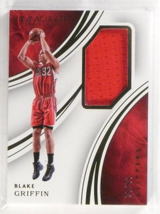 2015-16 Panini Immaculate Blake Griffin Jersey Base Card #D28/99 #12 *57290