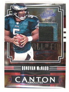 2008 Absolute Canton Absolutes Donovan Mcnabb 2clr patch #D 1/1 *30224
