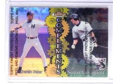 1999 Topps Finest Complements Derek Jeter Refractor Garciaparra #C5 *66118