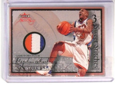 04-05 Fleer Sweet Sigs Stitches Stephon Marbury 3clr patch #Dd23/39 *46705