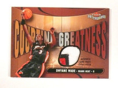 03-04 Fleer Patchworks Courting Dwyane Wade 3clr patch rookie #d132/150 *46447
