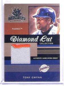 2003 Donruss Diamond Kings Diamond Cut Tony Gwynn Patch #D253/400 #DC34 *59938
