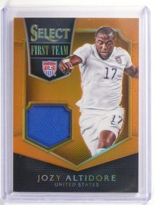 2015 Panini Select First Team Prizm Jozy Altidore jersey #D77/149 #FT-JA *52362