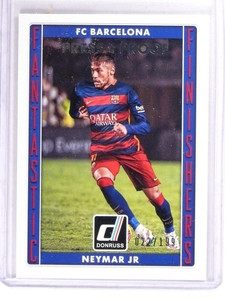 2015 Donruss Soccer Neymar Press Proof #D022/199 #10 *51539