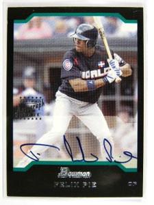 2004 Bowman Felix Pie auto autograph rc rookie #162 *28995
