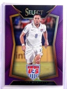 2015 Select Soccer Clint Dempsey Purple Prizm #D39/99 #19 *54072