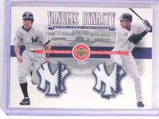 2002 Upper Deck Yankee Dynasty Scott Brosius Justice Dual Jersey #YJBJ *66410