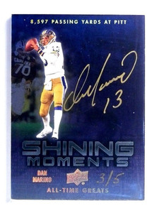 2012 Upper Deck All-Time Greats Dan Marino autograph auto #D3/5 *47788