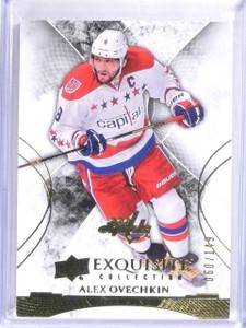 2015-16 Upper Deck Exquisite Alex Ovechkin Base Card #D060/149 #29 *56804
