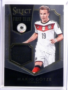 2015 Select Soccer Mario Gotze First Team Jersey #D110/199 #FTMG *53966