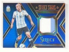 2015 Select Stars Javier Mascherano Memorabilia Jersey Blue #D10/99 #STJM *53133