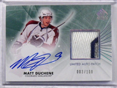 11-12 Sp Authentic Limited Matt Duchene auto autograph #D003/100 #14 *38825