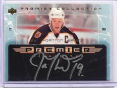 04-05 Upper Deck Premier Collection Joe Thornton auto autograph #PS-JT *38150
