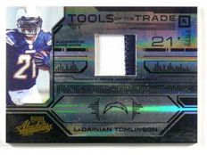 2008 Absolute Tools Of The Trade Ladainian Tomlinson 2clr patch #d08/50 *39903