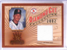 2002 Diamond Kings Cut Collection Pedro Martinez Jersey #D119/500 #DC64 *66358