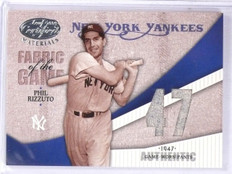 2004 Leaf Certified Fabric of the Game Phil Rizzuto Jersey #D03/47 #FG93  *61136