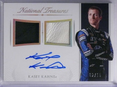 2016 National Treasures Kasey Kahne Dual Patch Autograph auto #D02/15 *65250