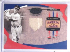 2004 Leaf Certified Fabric of the Game Stan Musial Jersey #D03/25 #FG112 *59631