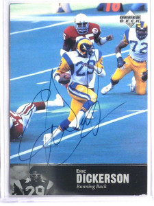 1997 Upper Deck Legends Eric Dickerson auto autograph #AL-99 *41700