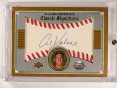 2002 Sweet Spot Classic Signatures Al Kaline autograph auto #A-AK *46586