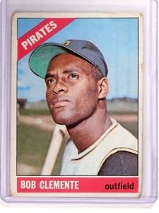 1966 Topps Roberto Clemente #300 GD-VG *52509