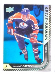 2015-16 Upper Deck Series 1 Wayne Gretzky Shining Stars Royal Blue #SS50 *53808