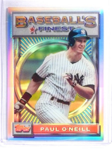 1993 Topps Finest Refractor Parallel Paul O'neill #170 Yankees *58517