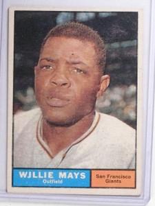 1961 Topps Willie Mays #150 VG *65180