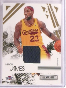 2009-10 Leaf Rookies & Stars Lebron James jersey #D247/250 #14 *67502
