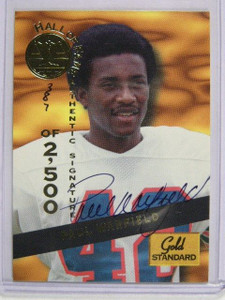 1994 Signature Rookies Gold Standard HOF Paul Warfield auto autograph /2500 *249