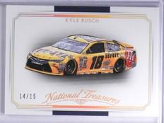 2016 Panini National Treasures Gold Kyle Busch  Car #D14/15 #31 *65457